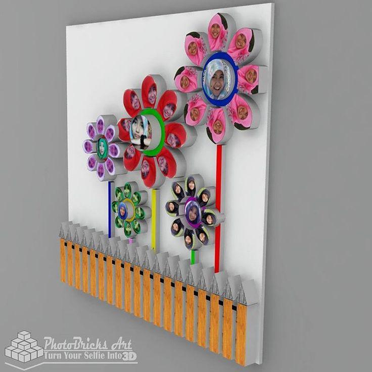 3D Flower CheerFlower model (no case view). Size 30x30 cm. Wanna purchase? Check our bio for more info. #interior #walldecor #decoration #interiordesign #creativeindustry #craft #art #gift #creative #creativeart #desainunik #desainkreatif...