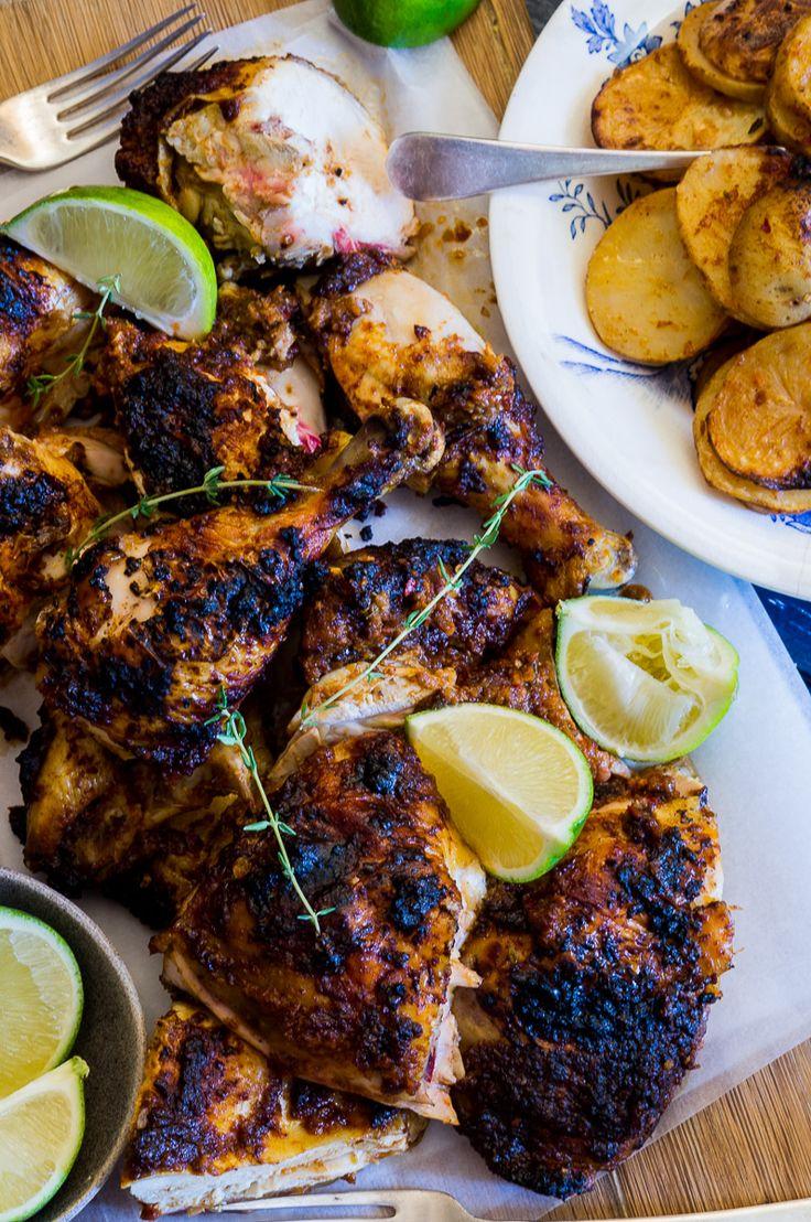Peri Peri Chicken by heinstirred #Chicken #Potatoes
