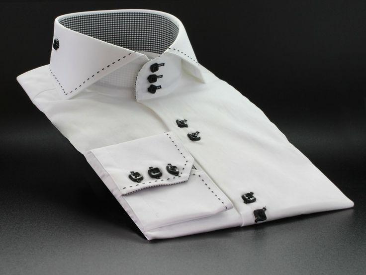 CP5515 White - Claudio Lugli Designer Shirts