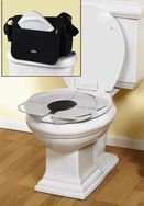 Perfectly portable potty seat