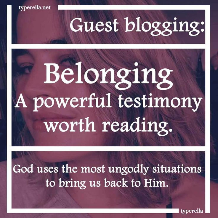 For guest-blogging purposes, I decided to invite my sister Isabel to write a blog post on any godly-topic she desired. The post she wrote turned out to be amazingly inspirational and powerful, I encourage you