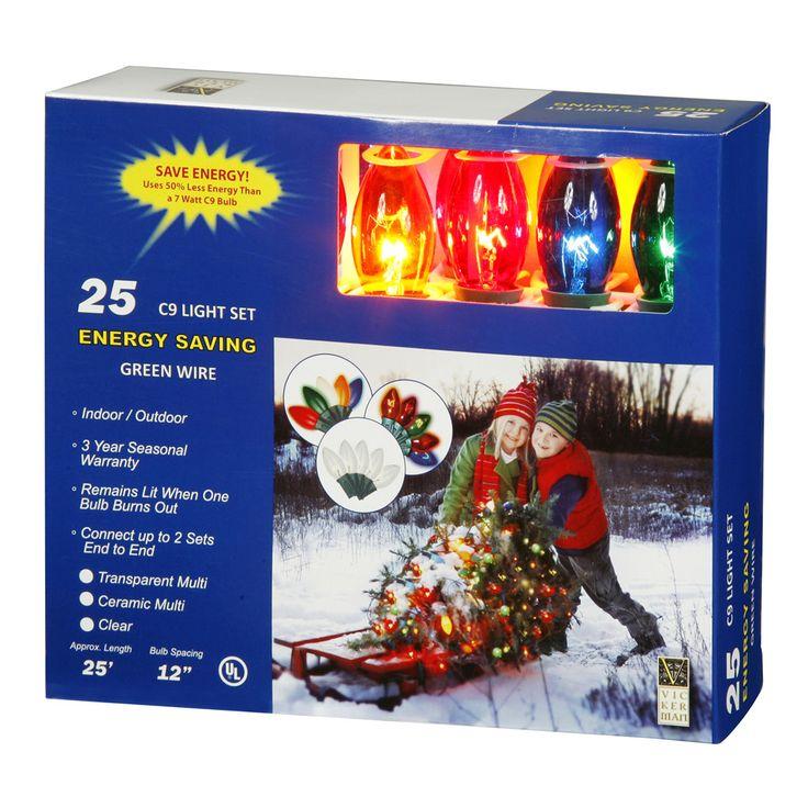 17 best ideas about c9 christmas lights christmas 25 transparent multi color c9 lights 25ft christmas set