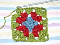 easiest tutorial for granny square too easy   keep sharing