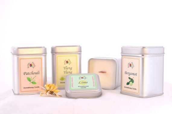 Candles  Aromatherapy Soy Wax Candles  by AromatherapyHealing