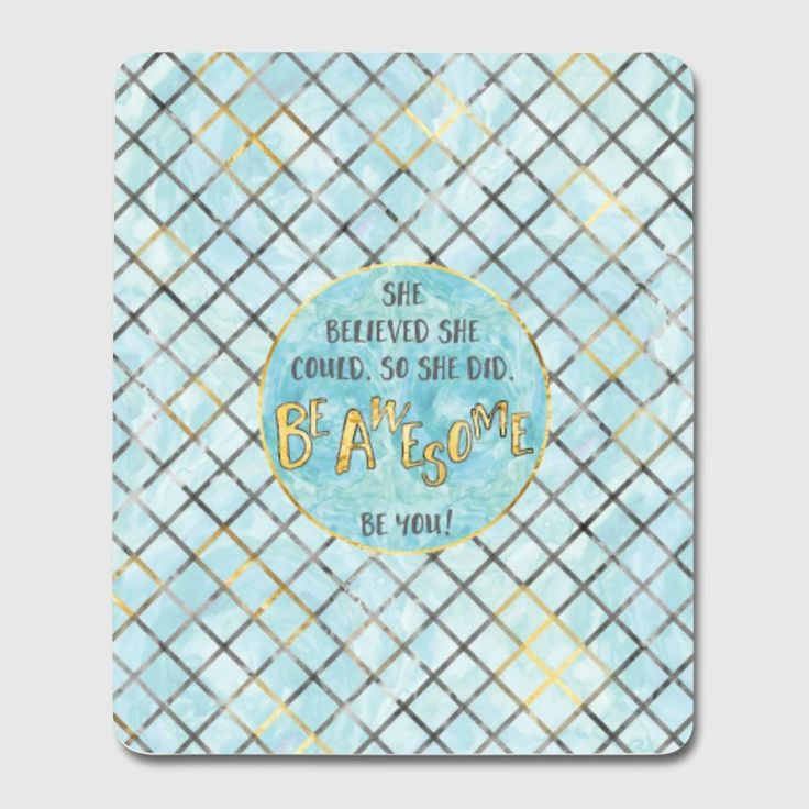 LOTS OF TRENDY MOBILE CASES AVAILABLE AT SPREADSHIRT. #mousepad #shopping #accessories #text #textart #modern #pattern #patterndesign #blue #cyan #cyandesign #shebelievedshecouldsoshedid #shebelieved #beyou #beyourself #motivation #motivationalquotes