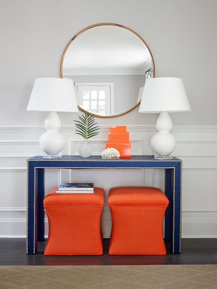 Stephanie Kraus Designs Blue And White Living Room A: Best 25+ Blue Orange Rooms Ideas On Pinterest