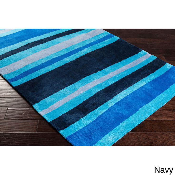 Meticulously Woven Roseville Striped Area Rug (8' x 11') | Overstock™ Shopping - Great Deals on 7x9 - 10x14 Rugs