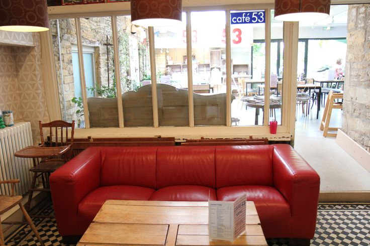 relaxed seating - coffee and cake coming!