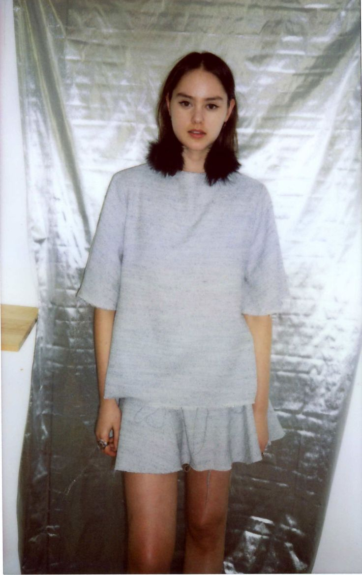Rosie ♥ Battenberg AW14 show fitting