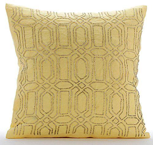 Designer Yellow Pillows Cover, Lattice Trellis Pillowcase... https://www.amazon.com/dp/B016H8UHEC/ref=cm_sw_r_pi_dp_x_.RkFyb4ZD39FH