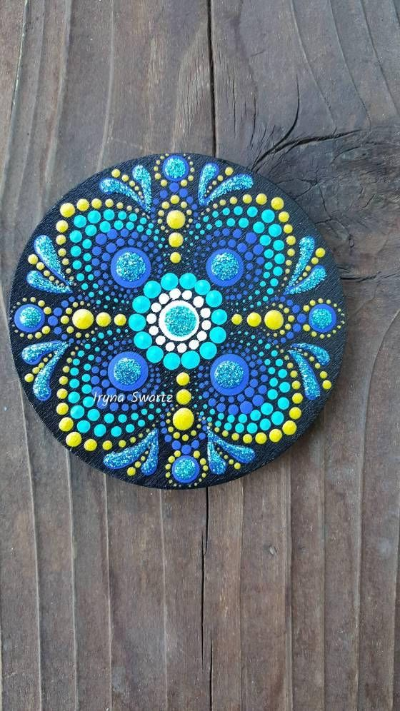 Acrylic painted wood magnet,great gift idea,home decor. Add more colours in your life or someone you love. Unforgettable and inexpensive gift. Sealed with protective sealer,not toxic.