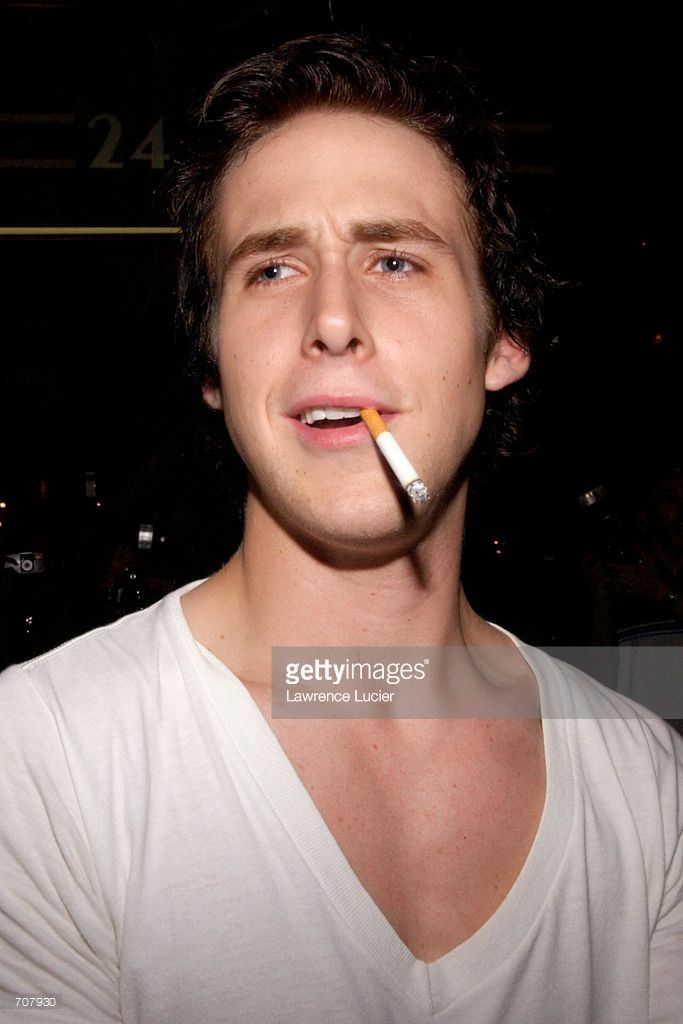 Actor Ryan Gosling departs the after party for the film premiere Murder by Numbers April 16, 2002 in New York City. Actress Sandra Bullock stars in the film.