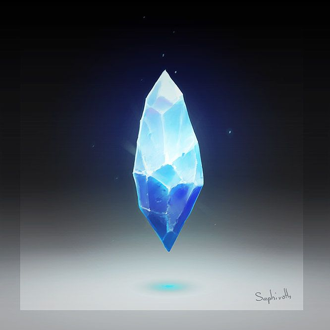 How to Draw Crystal by Sephiroth-Art