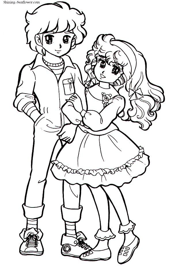miki and yuu from marmalade boy coloring pages for kids - auto     altec  altec wiring diagram