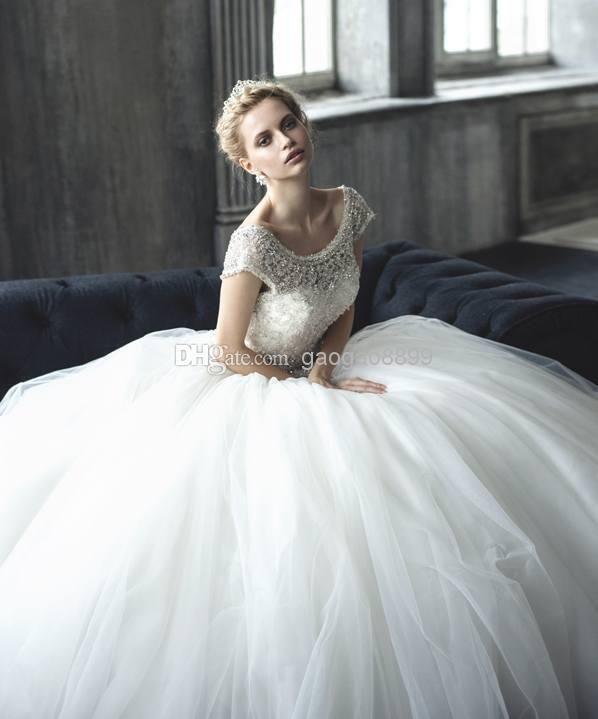 148 best wedding dresses images on Pinterest | Short wedding gowns ...