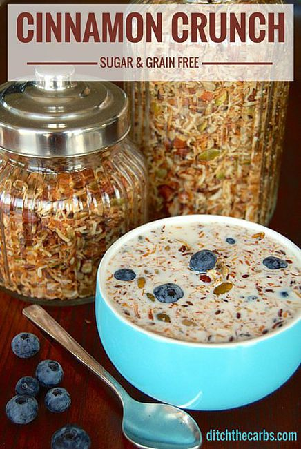 key-to-life | Cereal recipes | Dr. Sarah Hallberg