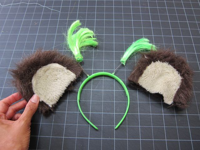 how to make an ewok costume for adults