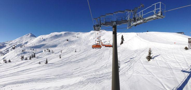 Skigebiet Flachau / Ski amadé in Flachau, Salzburg