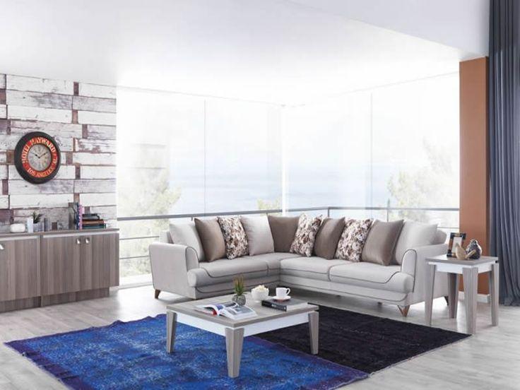 ... #Modern #Furniture #Mobilya #Köşe #L #Koltuk #Takımı #Sönmez #Home  #EnGüzelAnlara #EnzaHome #YeniSezon #KöşeTakımı #Home #HomeDesign #Design # Decoration ...