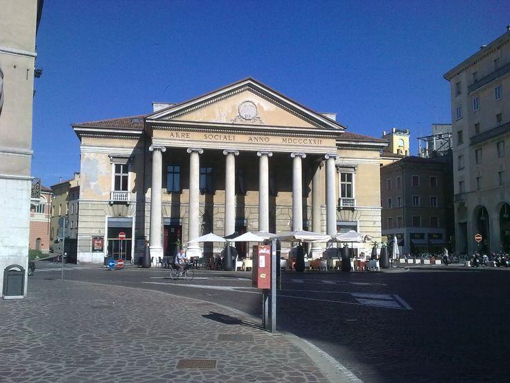 Il Teatro Sociale a Mantova