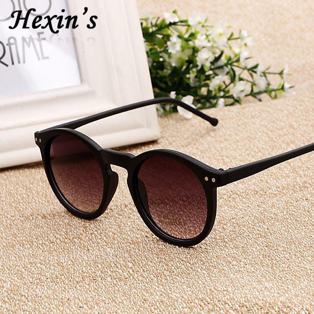 Moda Rodada Óculos De Sol Das Mulheres Lente Reflexiva óculos de sol de Revestimento Do Vintage Óculos de Sol Homens Gafas Lunettes Oculos de sol Feminino Masculino