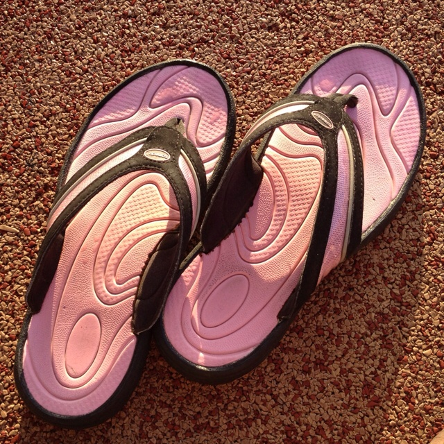 Sandals in the sun - Bahamas