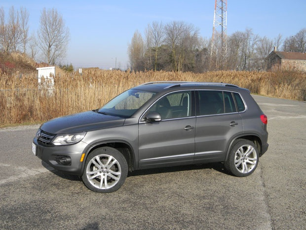 Road Test: 2012 Volkswagen Tiguan 4Motion Highline — the Tiguan is a handsome rig, made all the more so for 2012 courtesy of a freshening, specifically lighting upgrades and changes to the front and rear ends to give the vehicle more of the 'family' look