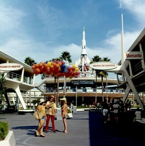 Vintage Tomorrowland at Walt Disney World