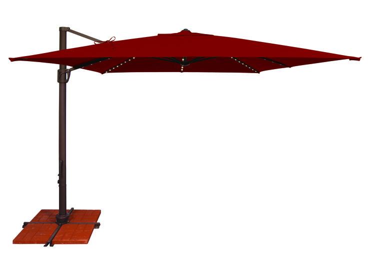 Offset Umbrellas Huge Discounts On Offset Patio Umbrellas