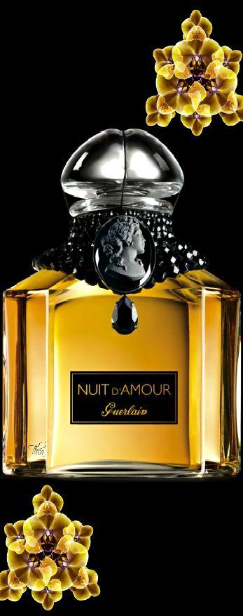 """Nuit d'amour Guerlain """"Pour vous mes Belles Amies que j'aime!"""""""