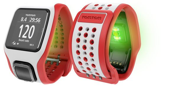Il Runner Cardio di TomTom consente di rilevare la frequenza cardiaca senza ricorrere alla fascia toracica
