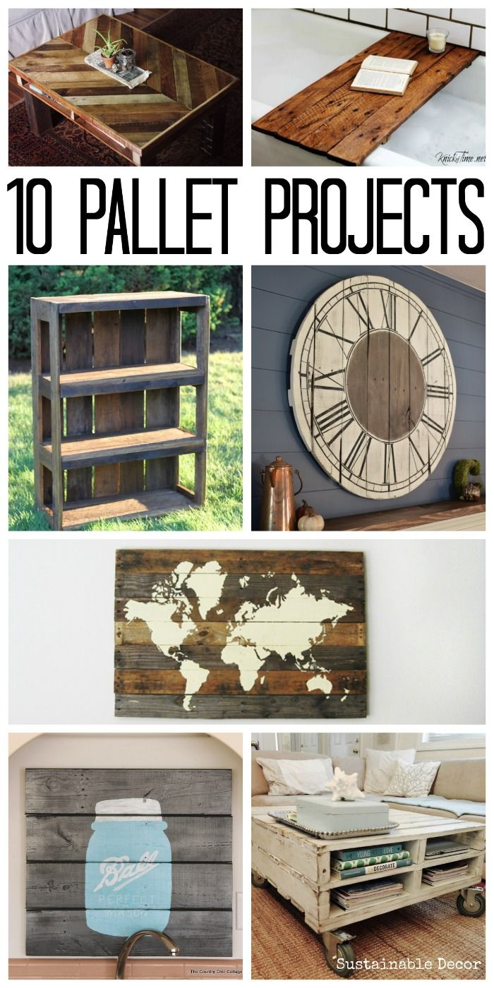 These are 10 pallet projects that sell! Looking to make some extra cash? Try these ideas!