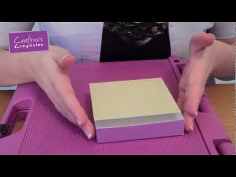 Ask Sara - Creating a Slider Box (LOVE THE PRINCIPLE ADDING A SHIM TO A REGULAR SCORING BOARD)