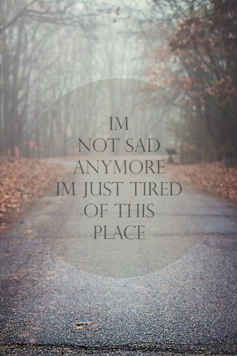 Run away - Quotes / Bipolar / Depression on imgfave
