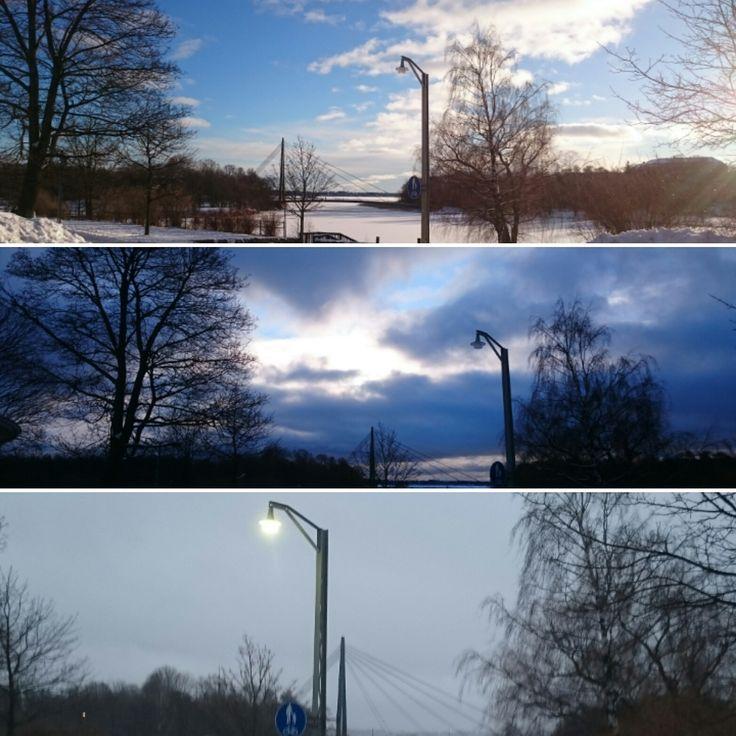 Vanhankaupunginkoski, Helsinki. February 2016