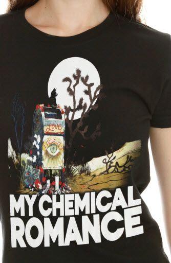 Hot Topic Band Shirts | ... : MERCH - My Chemical Romance Mailbox Girls T-Shirt avail @ Hot Topic