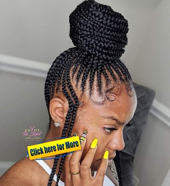 Braided Updos How To Braided Hairstyles Short Braided Hairstyles 2018 Female Braided In 2020 Hair Styles African American Braided Hairstyles Box Braids Hairstyles