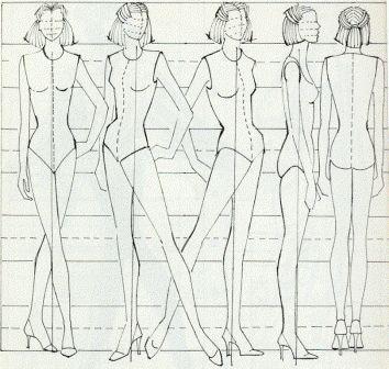 17 Best ideas about Fashion Design Template on Pinterest | Fashion ...