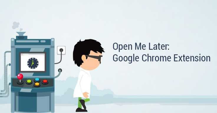 We wanted an extension that would open webpages in Google Chrome at specific times. So we made one.