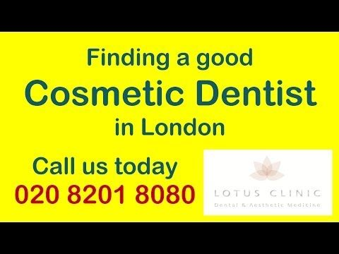 Cosmetic Dentist London offering Cosmetic Dentistry London services such as Dental Implants, Invisible Braces and more. Lotus Clinic | Dr Michael Franklhttp://youtube.com/watch?v=DcVemq76XLg | http://www.lotusclinic.comTel: 0208 8201 8080 | SWS Tv Expert Interview on 'How to find a good Cosmetic Dentist in London'Every month, hundreds, if not thousands of people search online for a good cosmetic dentist in London. How does one go about filtering the search results to get the right results?In…