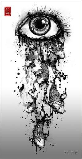 *: Ink Art, Tattoo Ideas, Nanami Cowdroy, Eye Tattoo, Black And White, Black White, A Tattoo, Eye Art, Cool Tattoo