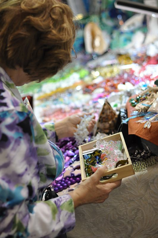 Beads and Embellishments - Visit the Creativ Festival with Maple Leaf Tours