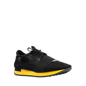 Balenciaga Race Shoes Men - Black - Discover the Men's shoes collection at www.firstbtq.com