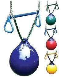 Bouy Ball Full Set up - swing set playground accessories | eBay