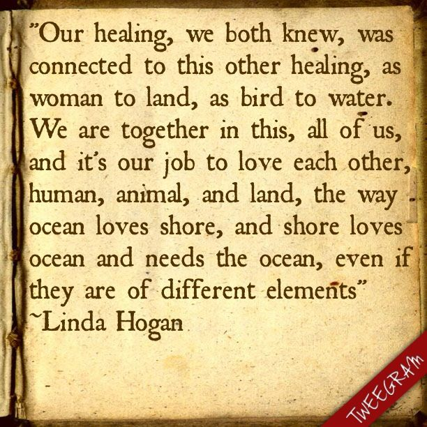 poem heritage by linda hogan Linda hogan 1947- (born linda henderson) american poet, novelist, short story writer, essayist, critic, playwright, and editor widely regarded as one of the most significant contemporary native.