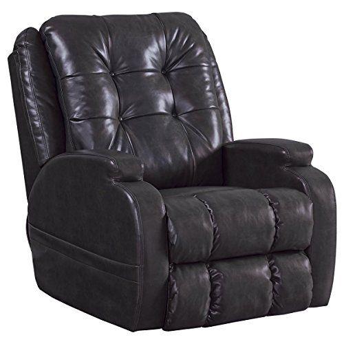 Catnapper 4855 1263 08 Coal Jenson Power Lift Chair Recliner