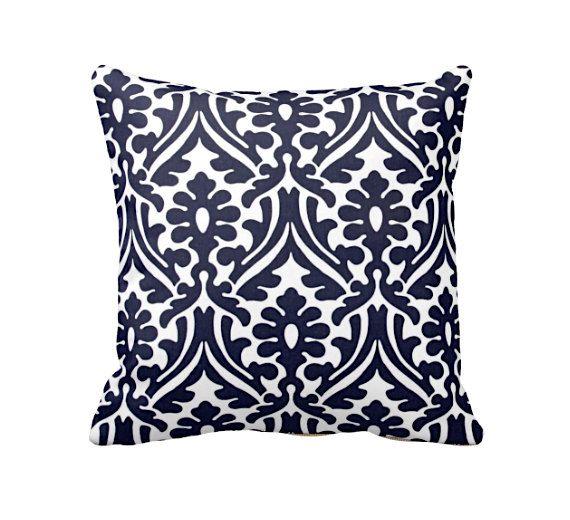 Oreiller housses coussins pour canapé Throw Pillow marine couvertures oreillers bleu marine oreiller oreillers 20 x 20 coussins 18 x 18 coussins