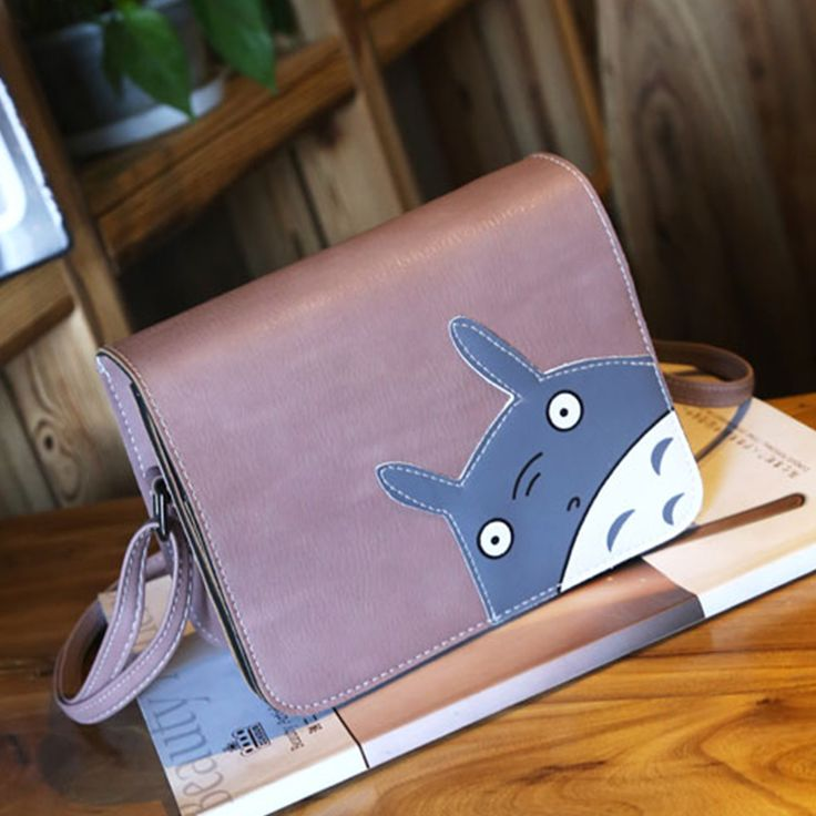Cartoon Women Crossbody Bags Designer Handbags High Quality Shoulder Bags Cute Anime Totoro Plush Female Messenger Bag Satchel - free shipping worldwide