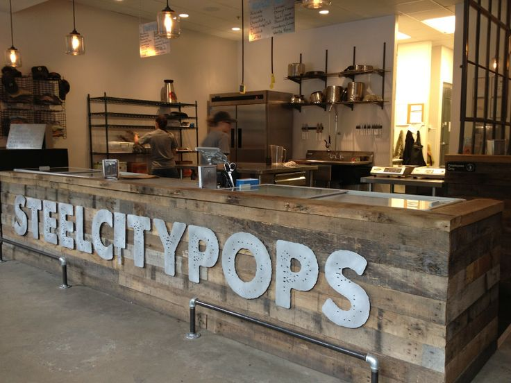 Steel City Pops Commercial Signs Restaurant Exterior