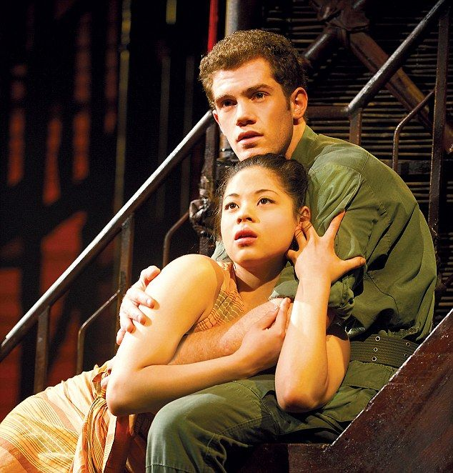 Eva Noblezada and Alistair Brammer- Miss Saigon, London